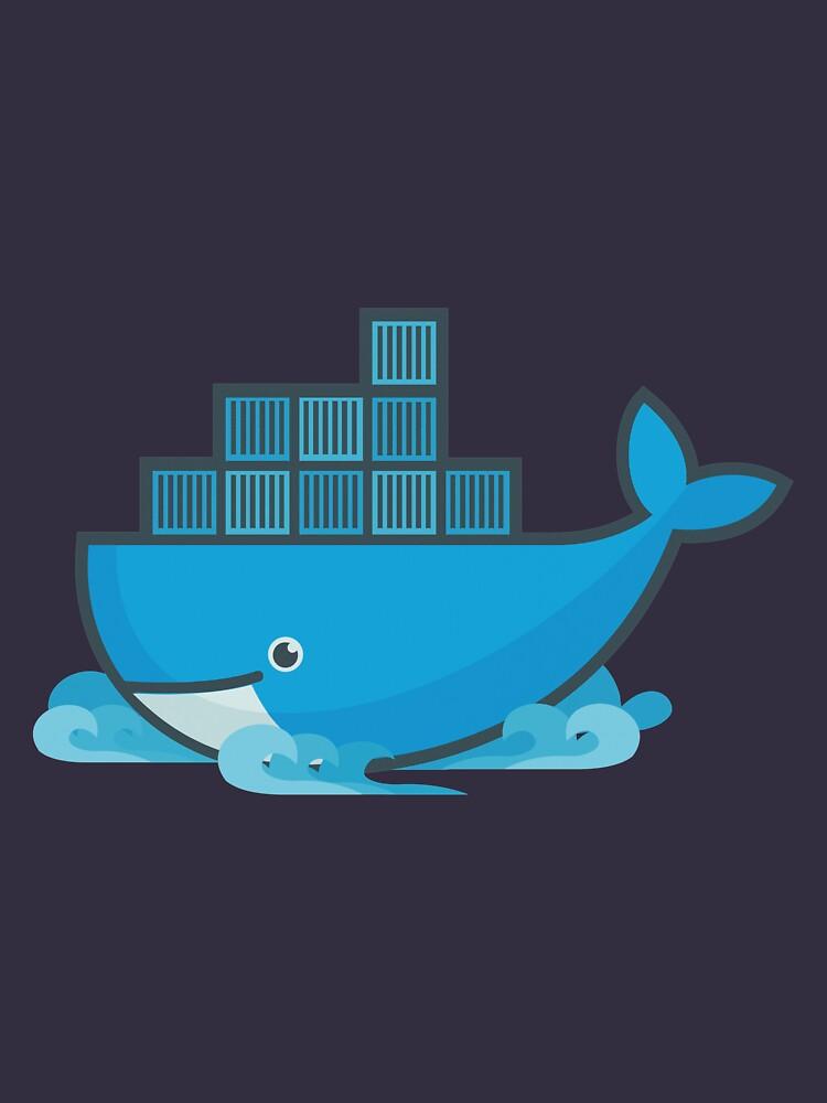 Docker Moby Wal von UnitShifter