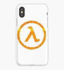 Half Life Lambda logo iPhone Case/Skin