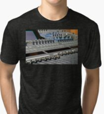 Mixing Console Tri-blend T-Shirt