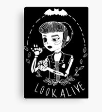 look alive Canvas Print