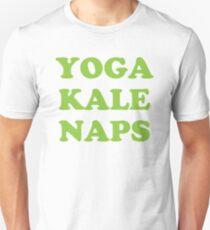 yoga kale naps Unisex T-Shirt