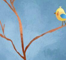 Bird and Tree Sticker