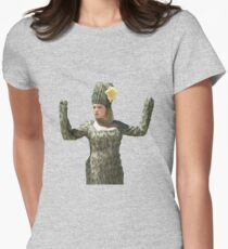 Rebecca Bunch as Cactus  Women's Fitted T-Shirt