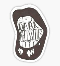 Red Hot Chili Peppers Dark Necessities Illustration Sticker