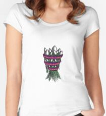Ancient Nature Women's Fitted Scoop T-Shirt