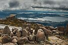 Clouds over Hobart by Werner Padarin