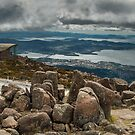 Clouds over Hobart by Werner Padarin