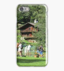 golf a Macugnaga ----- il lancio -   iPhone Case/Skin