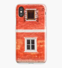 The Red House iPhone Case/Skin