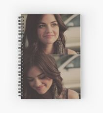 Aria Montgomery Smiling Spiral Notebook