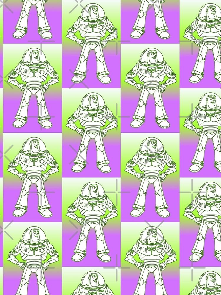 Buzz Lightyear Funky Desing  by shaz3buzz2
