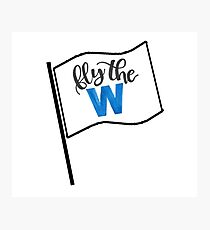 Fly the W flag Photographic Print