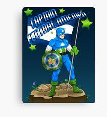 Captain Central America Canvas Print