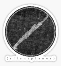 Silent Planet Stitch Sticker