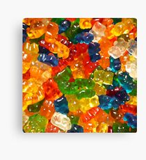 Gummy Bears by Squibble Design Canvas Print