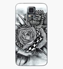 Tattoo Rose Greyscale Case/Skin for Samsung Galaxy