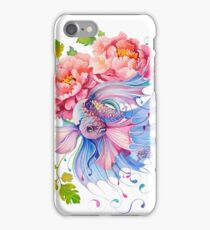 Flower Fish #1 iPhone Case/Skin