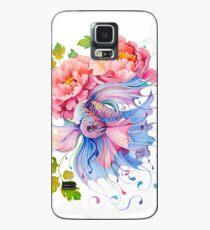 Flower Fish #1 Case/Skin for Samsung Galaxy
