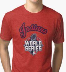 Cleveland Indians World Series #RallyTogether Tri-blend T-Shirt