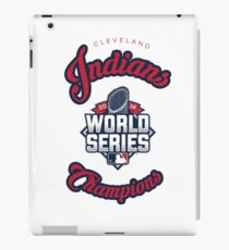 Cleveland Indians World Series Champs 2016 iPad Case/Skin