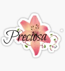 Preciosa(Precious)flower  Sticker