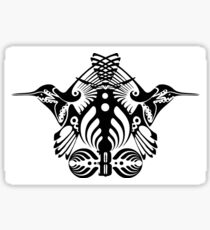 Bassnectar Family Crest Sticker