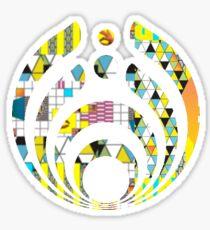 Bassnectar logo- NVSB album cover background Sticker