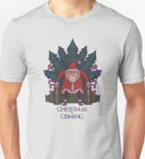 Santa of Thrones: Christmas Is Coming T-Shirt
