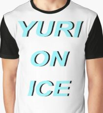 Yuri on Ice Arial Graphic T-Shirt