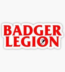 Badger Legion Sticker