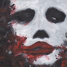 Creepy Smeared Makeup Man - V2 by krisy254