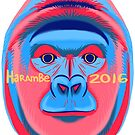 Vote Harambe 2016 by ProfessorBees