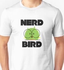 Nerd Bird with glasses T-Shirt