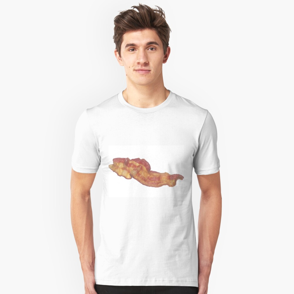 Cooked Bacon  Slim Fit T-Shirt