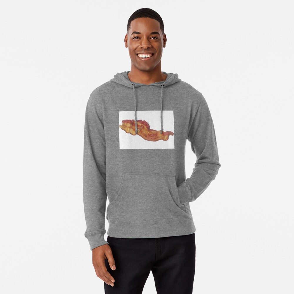 Cooked Bacon  Lightweight Hoodie