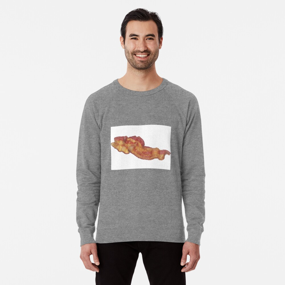 Cooked Bacon  Lightweight Sweatshirt