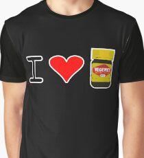 I Love Vegemite Graphic T-Shirt