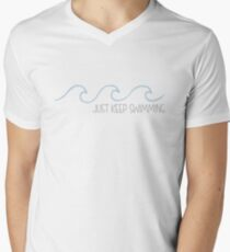 Just Keep Swimming Wave T-Shirt
