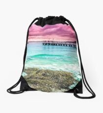 Best of Middleton Beach at Sunrise- Albany Drawstring Bag