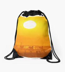 Shining Karratha at sunset Drawstring Bag