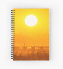 Shining Karratha at sunset Spiral Notebook