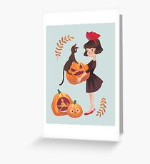 Kiki delivery service greeting cards redbubble kikis delivery service greeting card m4hsunfo