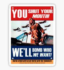 Fake propaganda Sticker