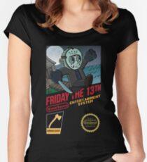 Super Voorhees bros Women's Fitted Scoop T-Shirt