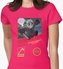 Super Voorhees bros Womens Fitted T-Shirt