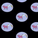 Rainbow Farting Unicorn by Octochimp Designs