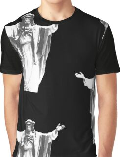 Jesus Chimp Graphic T-Shirt