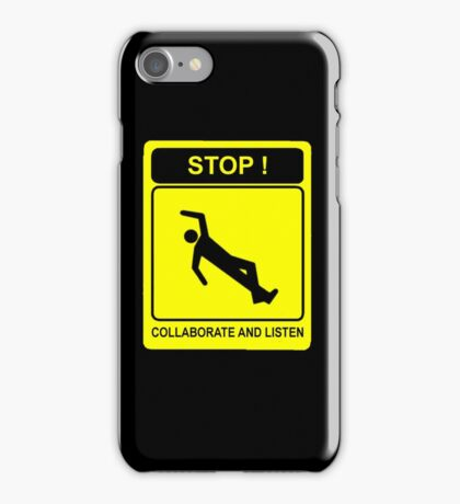 Collaborate and Listen iPhone Case/Skin