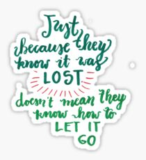 """""""Miss Peregrine's Home for Peculiar Children"""" Quote No.2 Sticker"""