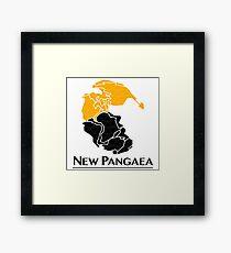 New Pangaea Framed Print